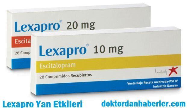 lexapro yan etkileri