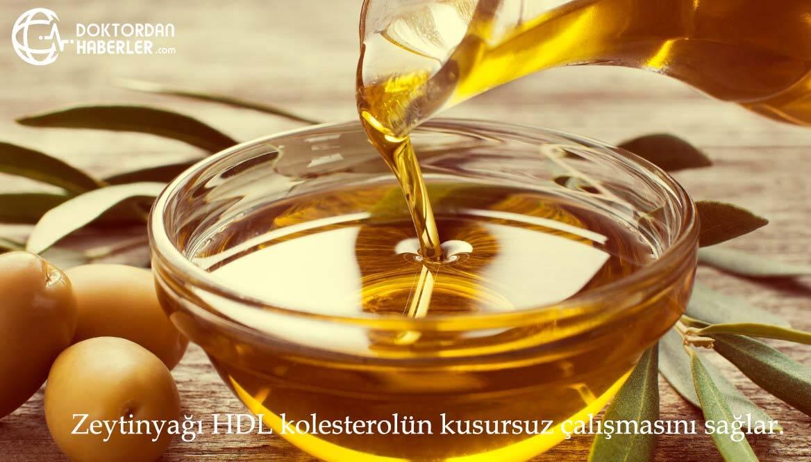 hdl kolesterol zeytinyagi