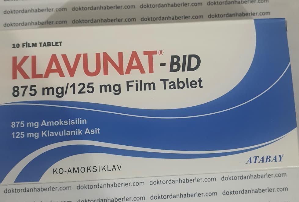 klavunat antibiyotik