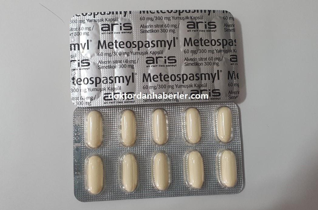Meteospasmyl yan etkileri
